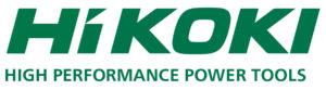 HiKOKI logo green payoff print